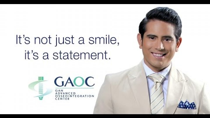 Embedded thumbnail for Gerald Anderson gets his treatments only in GAOC