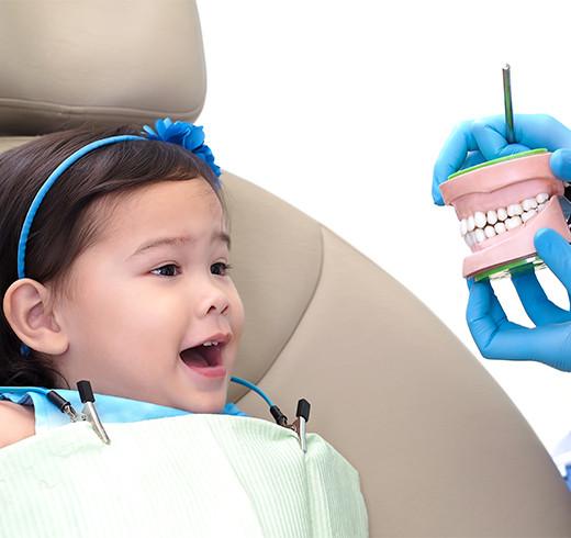 Pediatrics dentistry at GAOC