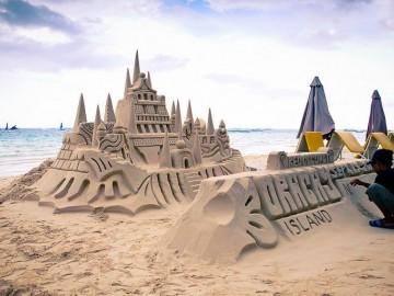 Boracay Sand formations